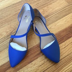 Royal Blue Mix No. 6 Flats